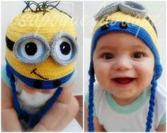Minions. Want this hat for my zoey....