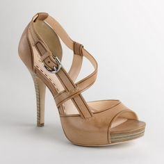 LOVE Coach. Love nude shoes. LOVE strappy sandals. These are amazing.