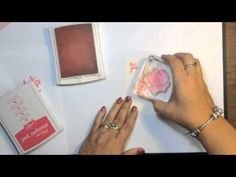 Stampin' Up! Lotus Blossom Card and Watercoloring Technique Video Tutorial