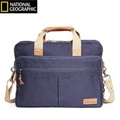 The Travelpro Nat Geo Cape Town Double Gusset Brief has main compartment which is ideal for storage of a tablet, file folders and power cords.