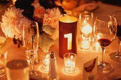 Wedding Wednesday - Table Numbers