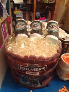 Cider bucket cake