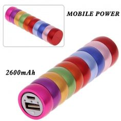 2600mAh Carpenterworm Mobile External Power Battery Charger for iPhone 4/4S, Various Cell Phones and Digital Devices $8.64