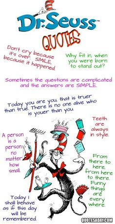 Dr. Seuss you are the man!