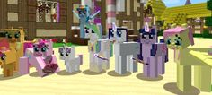 Mine Little Pony | Mod | Minecraft Building Inc