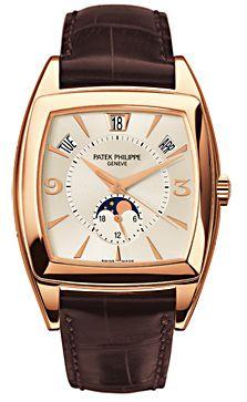 Patek Complicated Gondolo Calendario Rose Gold Men's Watch. List price: $45600