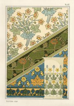 Grasset, Eugene - Pochoir Prints 1896 Illustrations