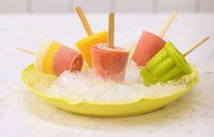 Verão pede picolé de frutas!