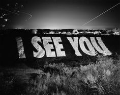One of the projections that Jenny Holzer did in San Diego in 2007.