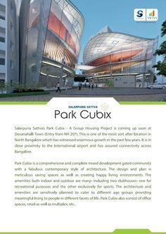 Salarpuria Sattva Park Cubix Brochure