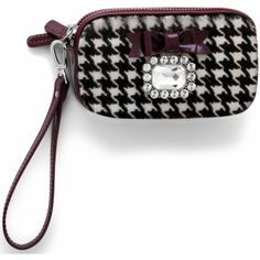 Lady Luxe Double Zip Wristlet Pouch available at #BrightonCollectibles