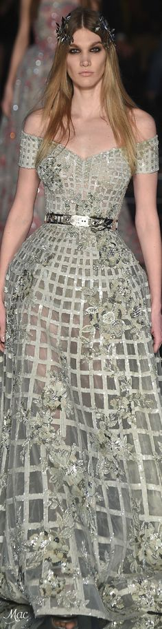 Zuhair Murad Spring 2016 Couture Fashion Show Couture Fashion, Runway Fashion, Fashion Show, Fashion Design, Zuhair Murad, Designer Gowns, Beautiful Gowns, Pretty Dresses, Ball Gowns