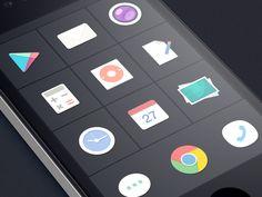 Flat icons of SmartisanOS (jff)
