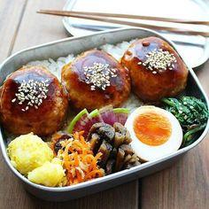 地味弁が素朴で美味しい!栄養バランスを考えた食べごたえのあるお弁当50選 | folk (3ページ) Asian Recipes, Ethnic Recipes, Bento Box Lunch, Pretzel Bites, Recipe Box, Japanese Food, Lose Weight, Meals, Chicken