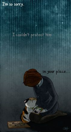 """Right in the feels. D""""x (art credit to chouly-stuff)"""