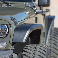 Ride hard and worry-free with our Roadline precision engineered fenders that are sure to enhance all your JK adventures. #GetOutGoRhino