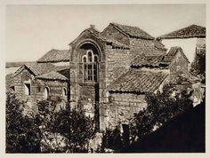 Μονή Κάτω Παναγιάς, 1928