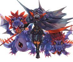 Vampire Lord and Basilisks - Puzzle and Dragons