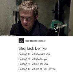 And John will try to save him every time