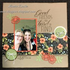 Stampin Up - Scrapbook Page