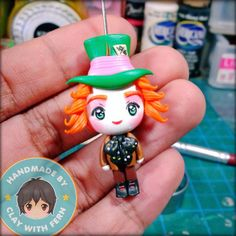 Mad Hatter by Clay with Fern