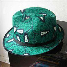 cewax.fr aime cette chapeau en tissu africain wax style ethnique afro tendance tribale african print ankara