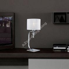 AZzardo Impress Table White - Állólámpák Lamps, Lighting, Luxury, Table, Home Decor, Lightbulbs, Decoration Home, Light Fixtures, Room Decor