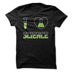 (Top Tshirt Seliing) I Love Science T Shirt [TShirt 2016] Hoodies, Tee Shirts