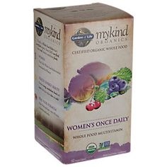 Buy My Kind Organics Womens Once Daily Multi (60 Tablets) from the Vitamin…