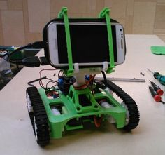 3ders.org - ROSCO: low cost, open source 3D printable DIY rover | 3D Printer News & 3D Printing News