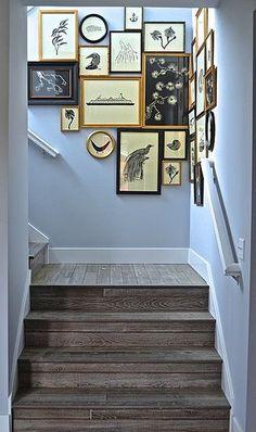 Stairway Gallery WALLS