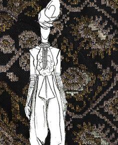 #SandraGalan #fashion #sketch #illustration #collage #vintage #Romanian #embroidery Collage Vintage, Sketch, Embroidery, History, Boots, Illustration, How To Wear, Fashion, Sketch Drawing