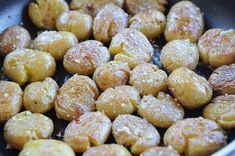 Batatas a Murro no Forno Microondas - Receitas de Portugal