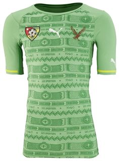 Togo (Fédération Togolaise de Football) - 2014/2015 Puma Away Shirt