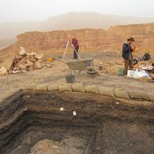 Proof Of Solomon's Mines Found In Israel In excavation led by Tel Aviv University (TAU) archaeologists dates mines in the south of Israel to the days of King Solomon The stratigraphy of the Slaves' Hill, resulting from 150 years of copper production peaking in the 10th century BCE
