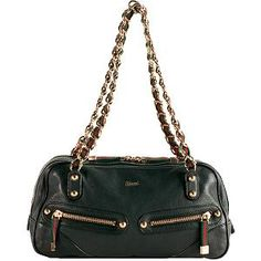 Black Gucci 'Capri' Satchel Handbag