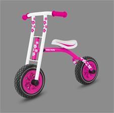 Milly Mally Rowerek Biegowy Smart Różowy