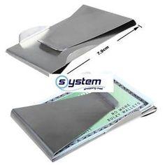 Geldspange-Geld-Klammer-Geld-Clip-Money-Clip-mit-Kreditkarte-in-einem