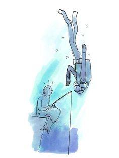 How Deep Underwater Can a Human Really Travel? - Popular Mechanics