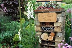 Bug hotel - perfect for little ones who love discovering bugs and insects
