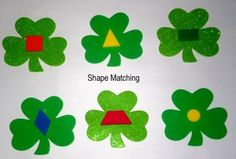 DIY St. Patrick's Day Matching Game for Preschoolers