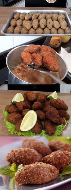 RECEITA DE QUIBE FRITO #receita #quibefrito#comida #culinaria #gastromina #receita #receitas #receitafacil #chef #receitasfaceis #receitasrapidas