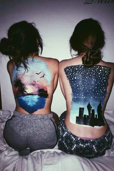 Body Art Bold Body Painting Art Ideas To Try; Body Paining Artistico Espalda Bold Body Painting Art Ideas To Try; Paintings Tumblr, Art Paintings, Body Painting Tumblr, Painting On Body, Anatomy Sketch, Girl Faces, Body Art Photography, Back Art, Art Thou