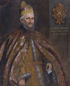 The Doge of Venice Ioannes Bembo 1616   If you're putting on a period production of Othello or Merchant of Venice take note of this costume.