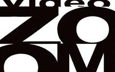 Manifesto della mostra Video Zoom, 3 febbraio – 3 marzo 2017 Video, 3, Symbols, Letters, March, Icons, Letter, Fonts, Calligraphy