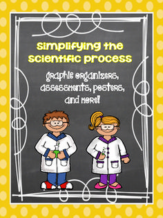 Simplifying the Scientific Process - Free for the rest of May 8th as a Teacher Appreciation Gift!