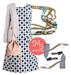 """""""Hold My Spot Dress"""" by modcloth ❤ liked on Polyvore featuring ootd, modcloth and modstylist"""