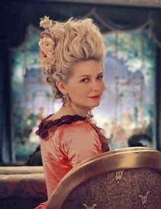 vintagehair: Marie antoinette, 18th century hair.
