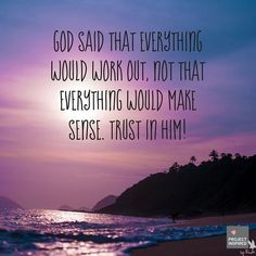 Romans 8:28 reminds us to trust God through experiences that seem utterly pointless and painful. If you are facing something insurmountable in your life today, remember God is working in your situation although you may not see it. Keep praying no matter how hopeless it seems, and don't stop thank God that He works out everything in our lives for for good. #projectinspired