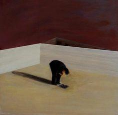 The viewer provides the description, 'Conscientious Objection' by John Hiom http://www.celesteprize.com/artwork/ido:282351/